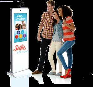 Kiosk Selfie Station Photo Booth