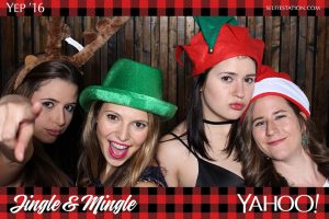 Selfie Station Holiday Party Photo Booth Rentals